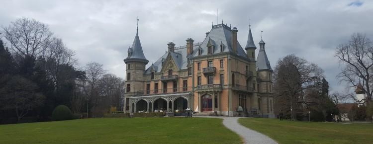 Mein Foto vom Schloss Schadau