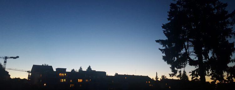 Gedanken zur blauen Stunde