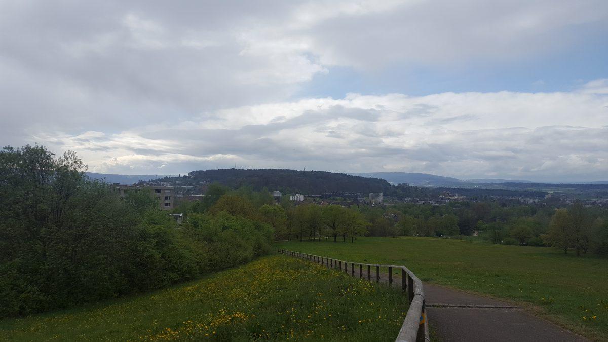 Aussicht vom Monte Diggelmann