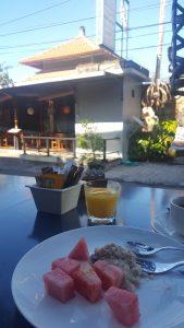 Frühstück im Artotel Sanur