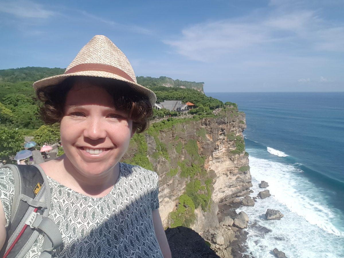 Rahel in Uluwatu, Bali
