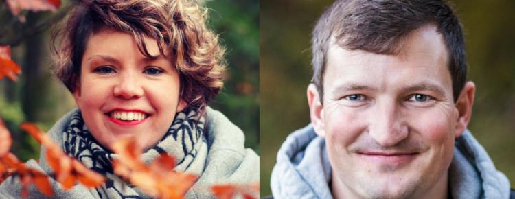 Profilbilder von Rahel und Stefan